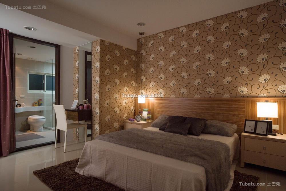 典雅小户型家装卧室效果图