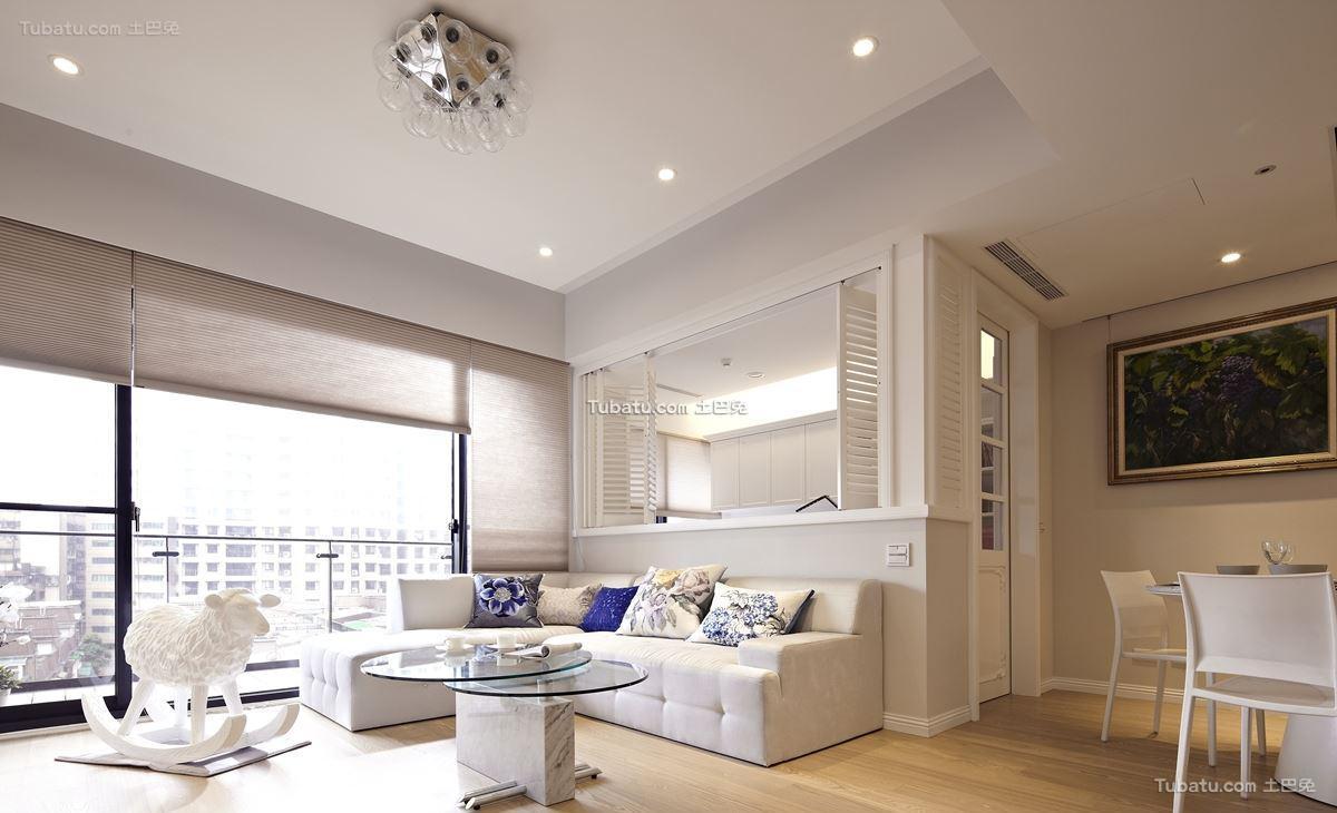 贵气美式风格家装客厅图