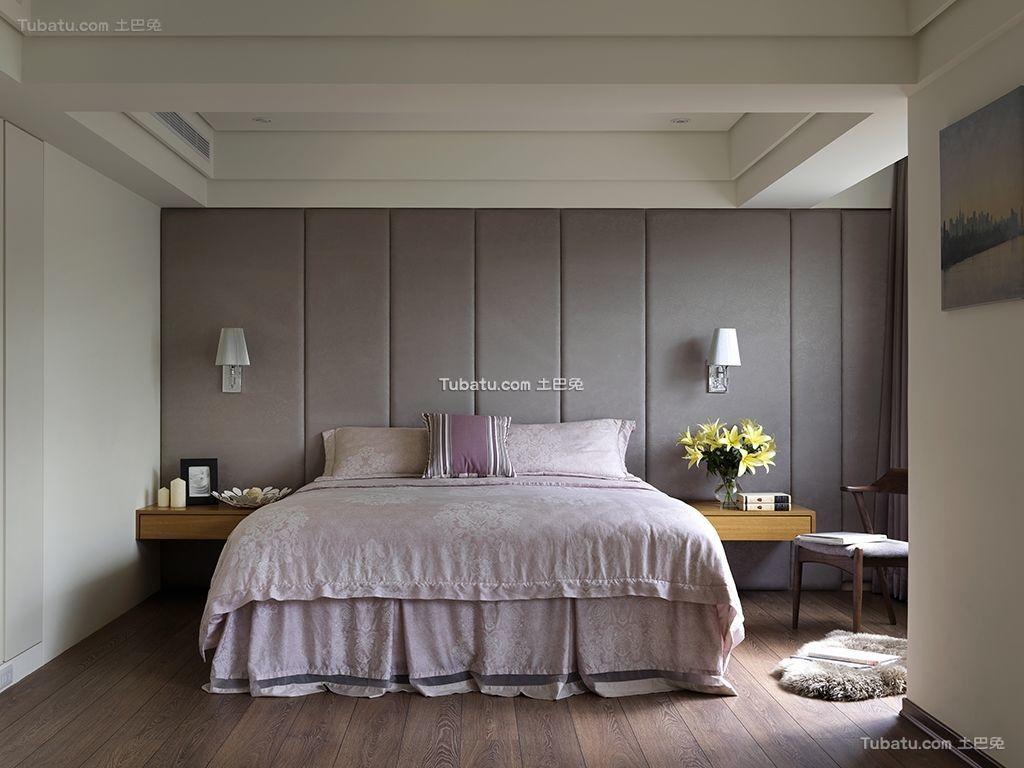 温暖三居室家装卧室效果图