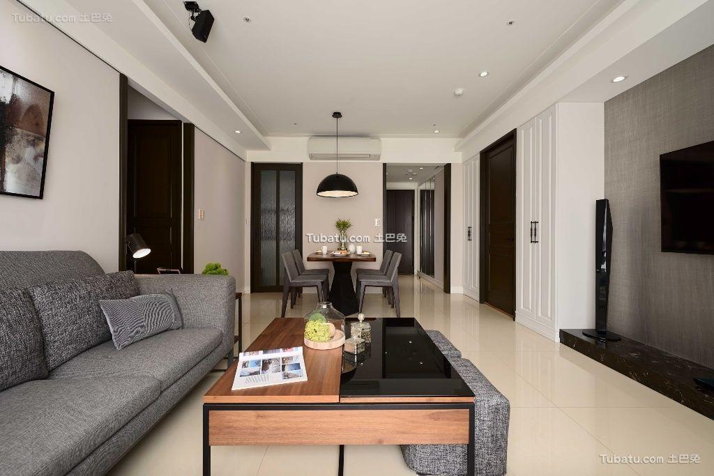 精致新古典风格家装客厅图