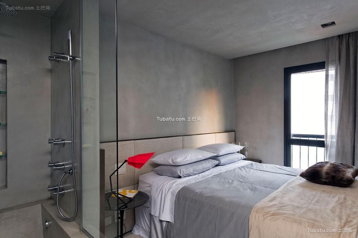 朴素简约风格家装卧室效果图