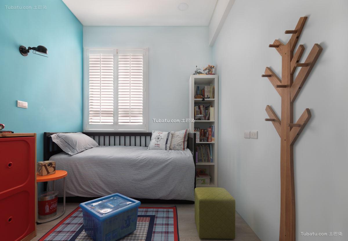 自然美式风格家装书房效果图片