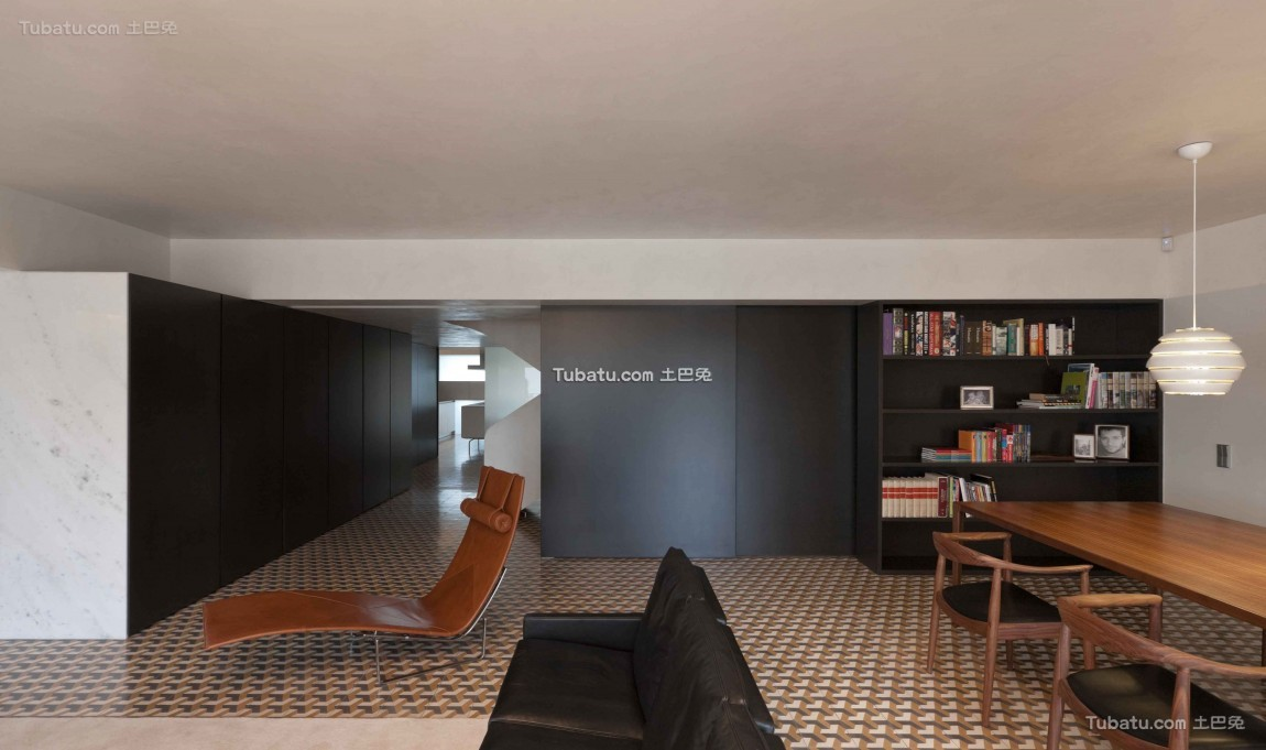现代复式楼家装效果图