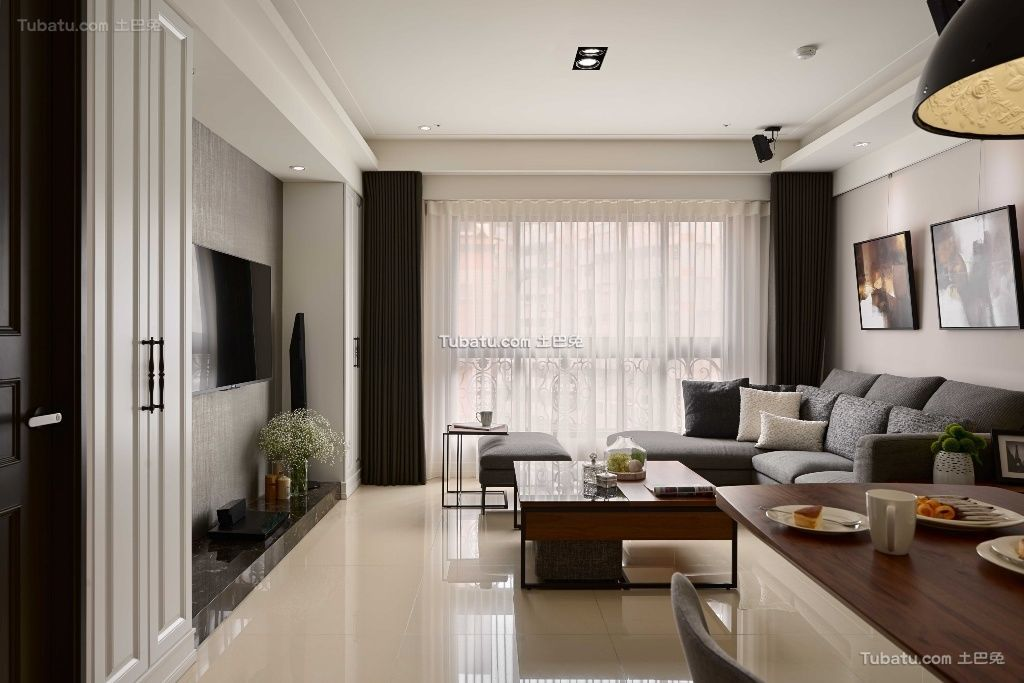 精致新古典风格家装窗户效果图