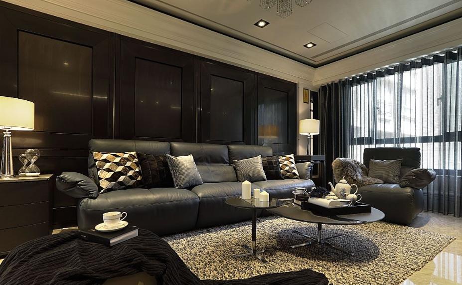 温婉的欧式风格家装背景墙效果图