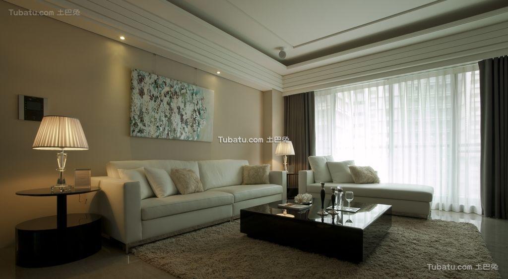 时尚一居室家装背景墙效果图