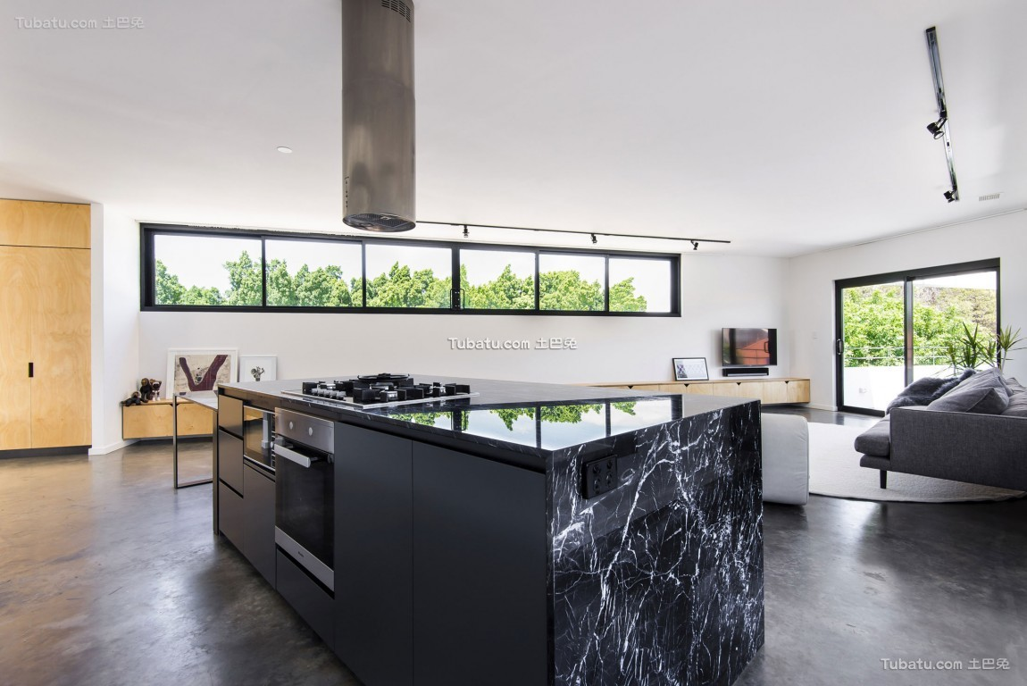 宽敞复式家装厨房效果图