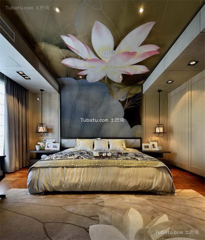 融入中国文化思想的中式风格卧室图
