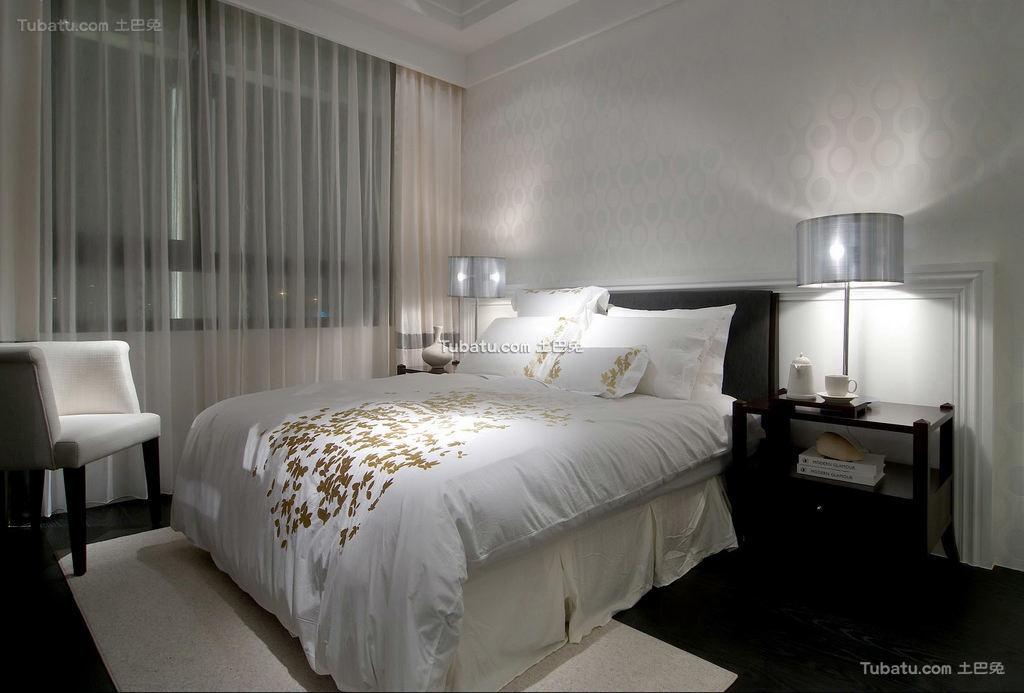 豪华富丽的欧式风格家装卧房效果图