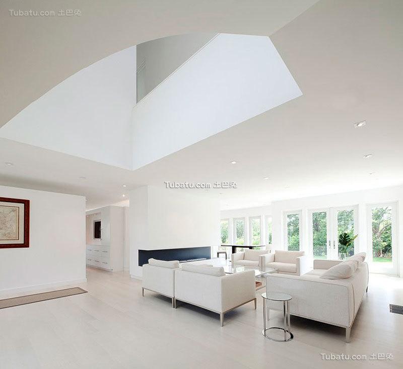 明亮简约风格家装客厅效果图