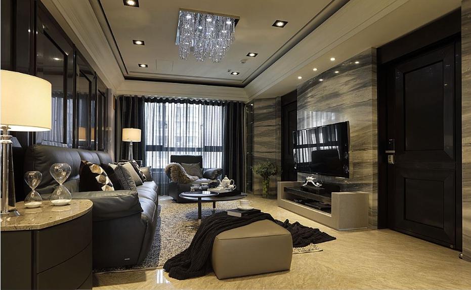 温婉的欧式风格家装客厅图