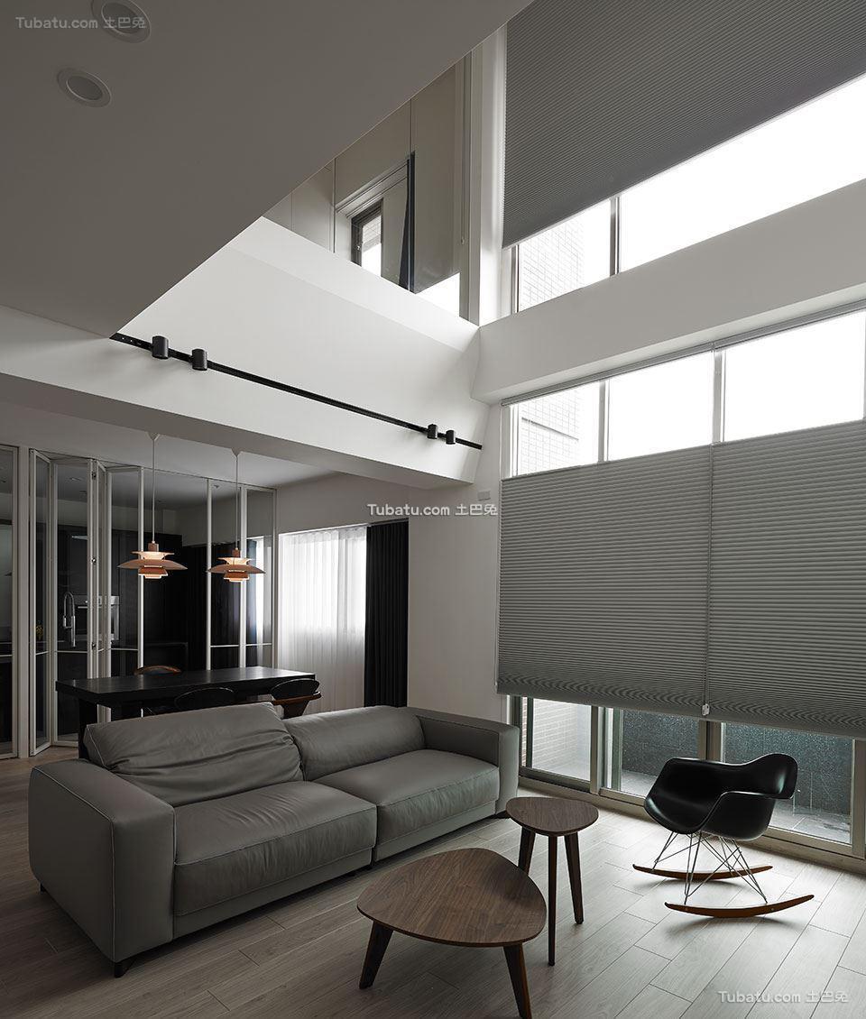 前卫美式风格家装客厅效果图