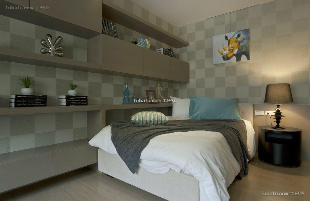 时尚一居室家装卧室效果图