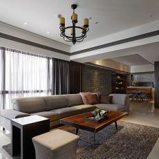 前卫美式风格家装客厅图