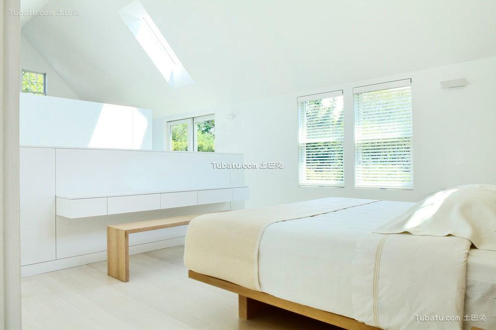 明亮简约风格家装卧室效果图片