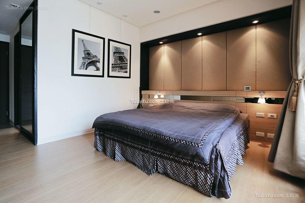 前卫北欧风格家装卧室效果图