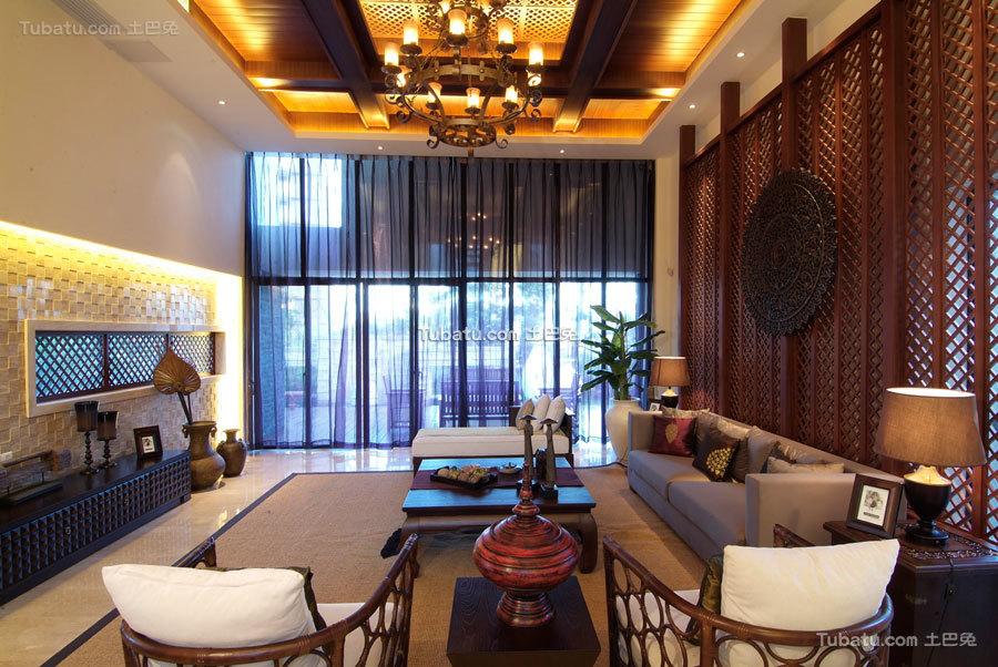 别具东南亚风格家装效果图