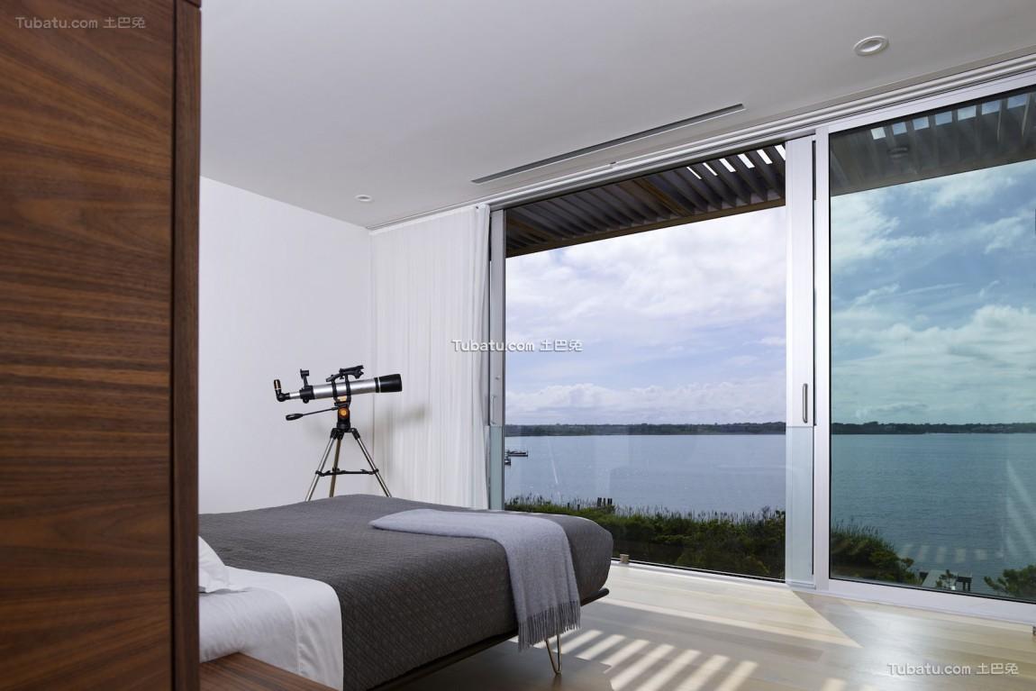 现代清晖复式楼家装窗户效果图