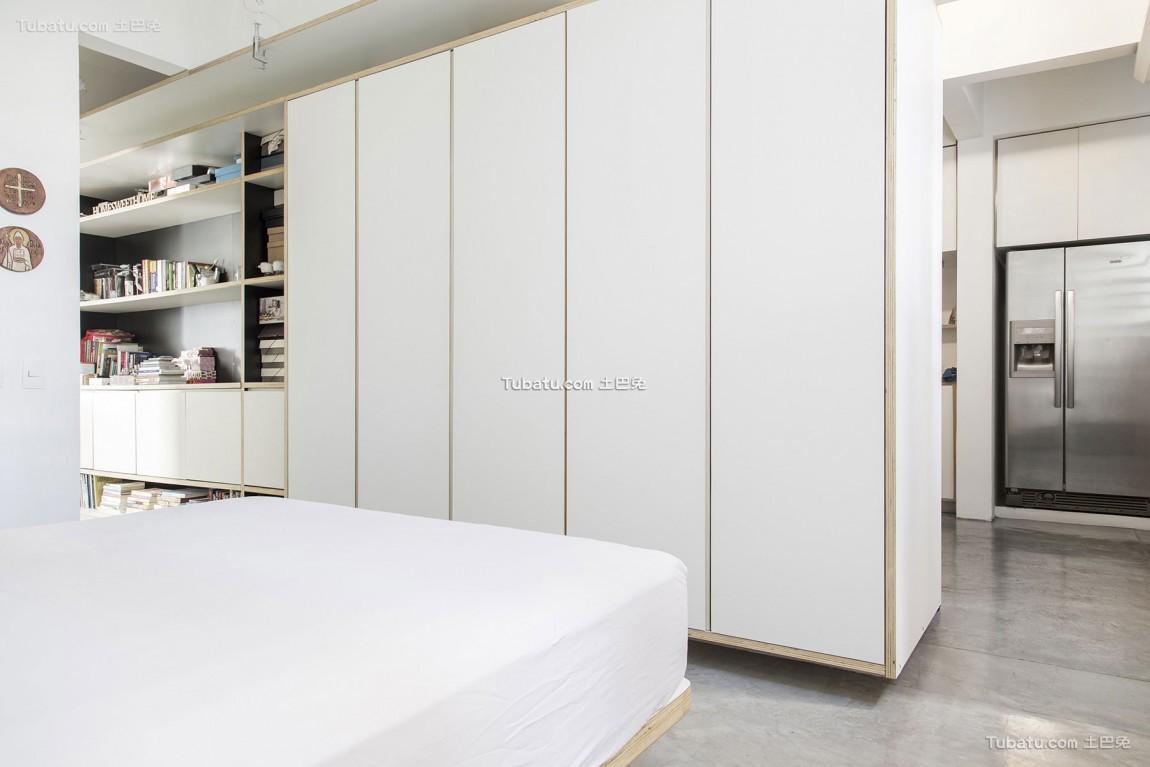 现代简约风格家装卧室效果图片