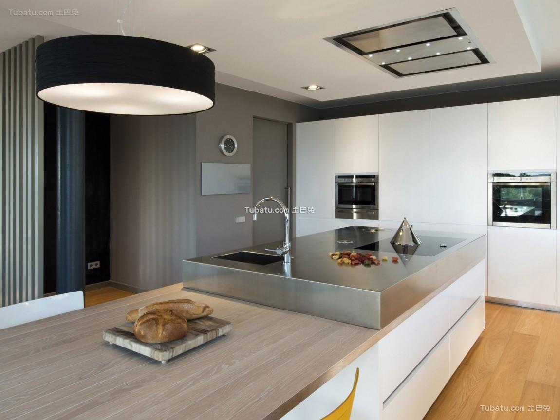 前卫三居室家装厨房效果图