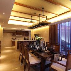 别具东南亚风格家装餐厅效果图