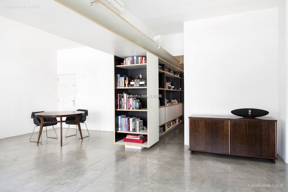 现代简约风格家装客厅效果图片