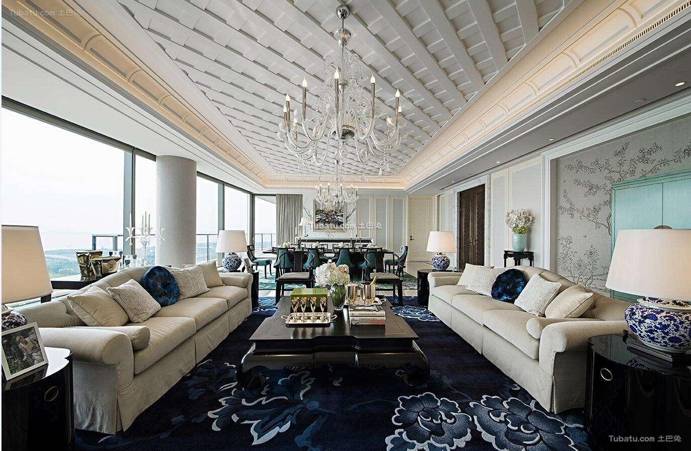 精典欧式风格家装客厅效果图