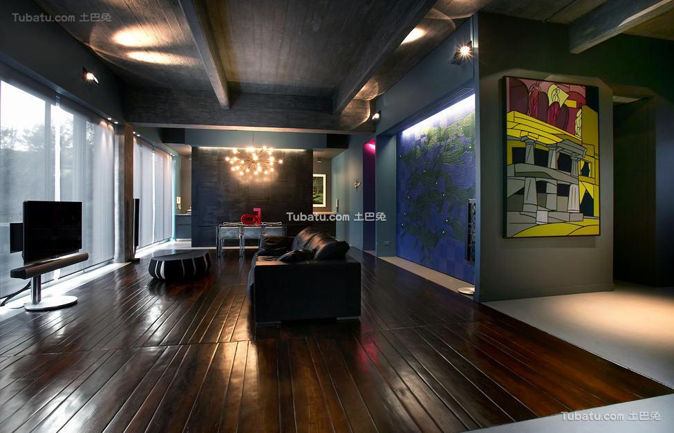 美式风格住宅吊顶效果图