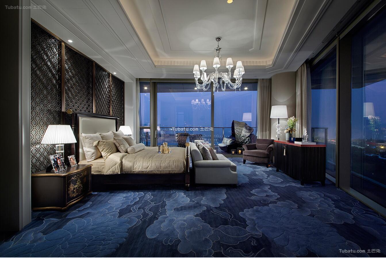 精典欧式风格家装卧室效果图