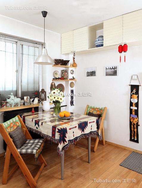 时尚风小户型家装餐厅效果图