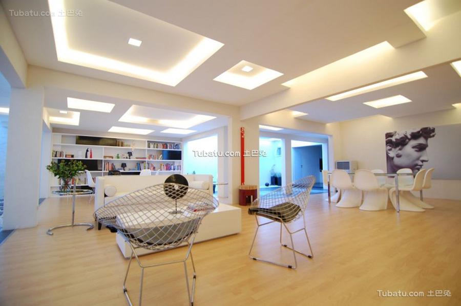 美式简约风家装客厅效果图片