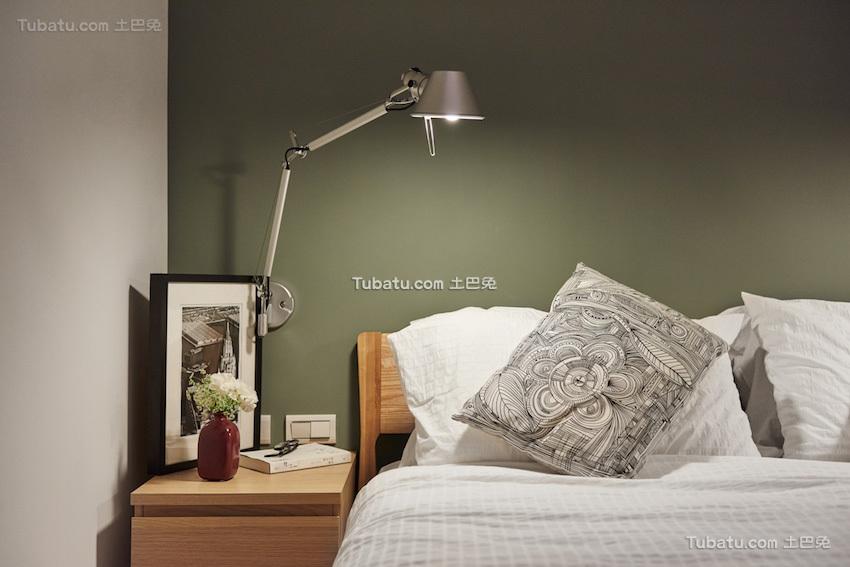 板桥北欧风格家装床头背景墙效果图