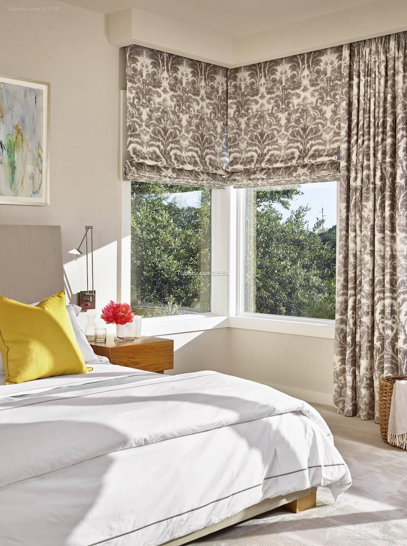 现代风二居家装卧室效果图