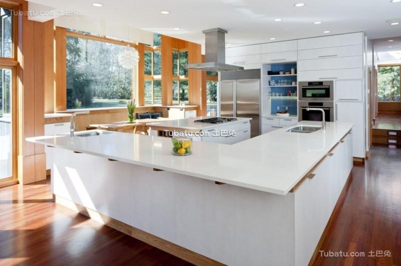 简约风格住宅厨房效果图