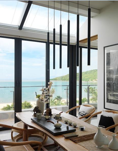 观海美式风格家装窗户效果图