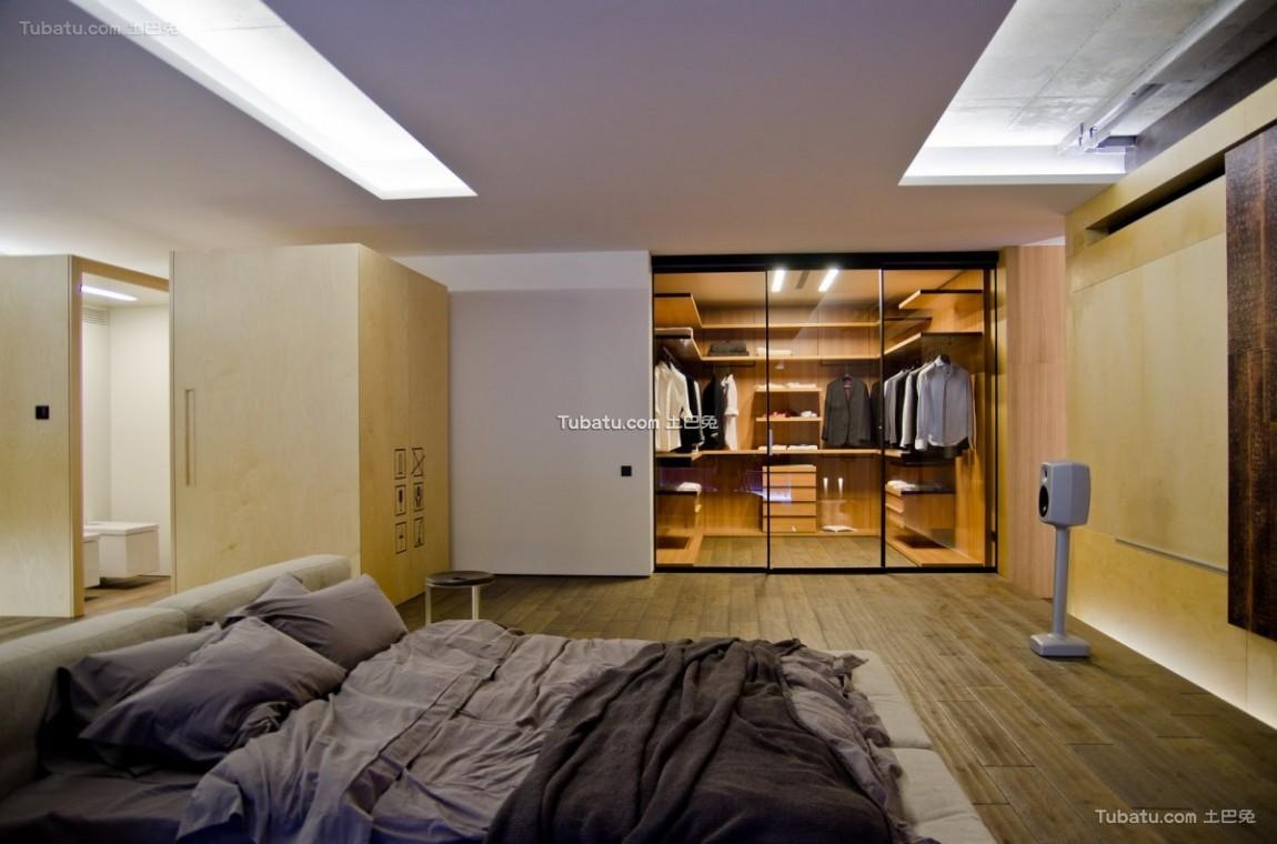 轻美式家装卧室效果图