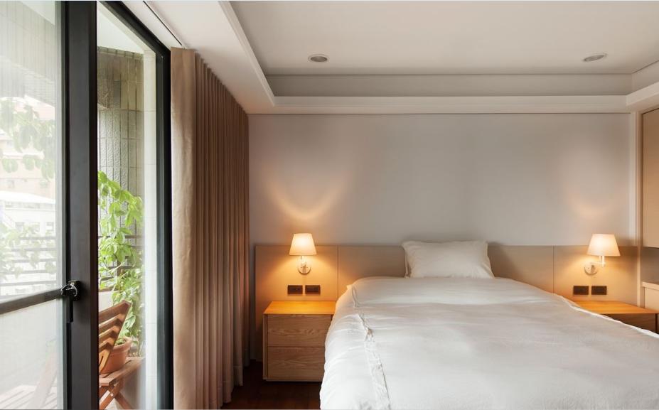 自然简欧风格家装卧室效果图