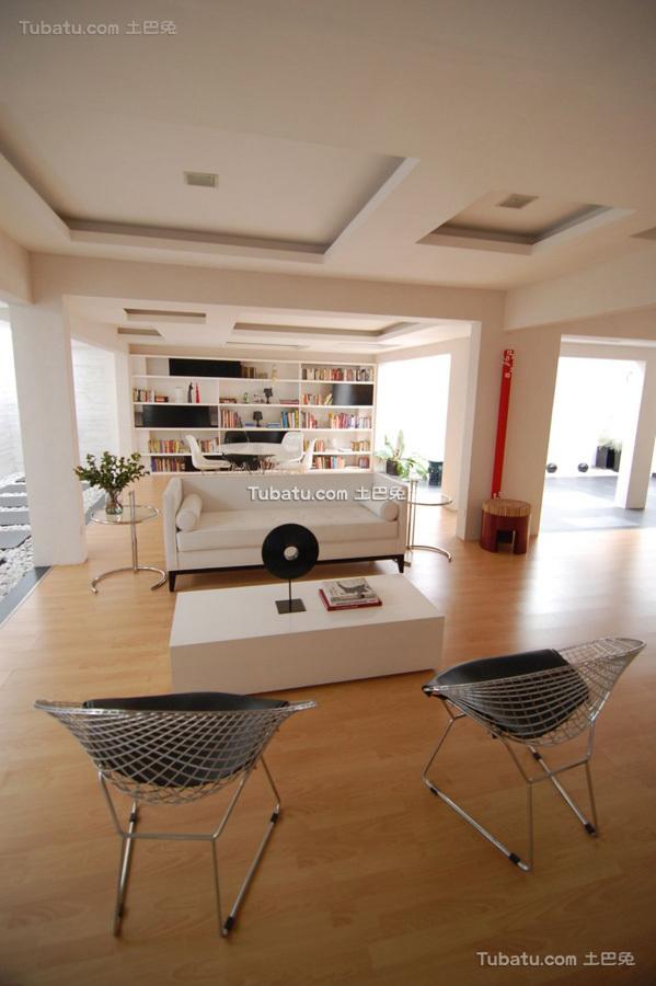 美式简约风家装客厅设计效果图