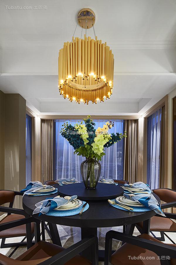 高雅欧式家装餐厅效果图片