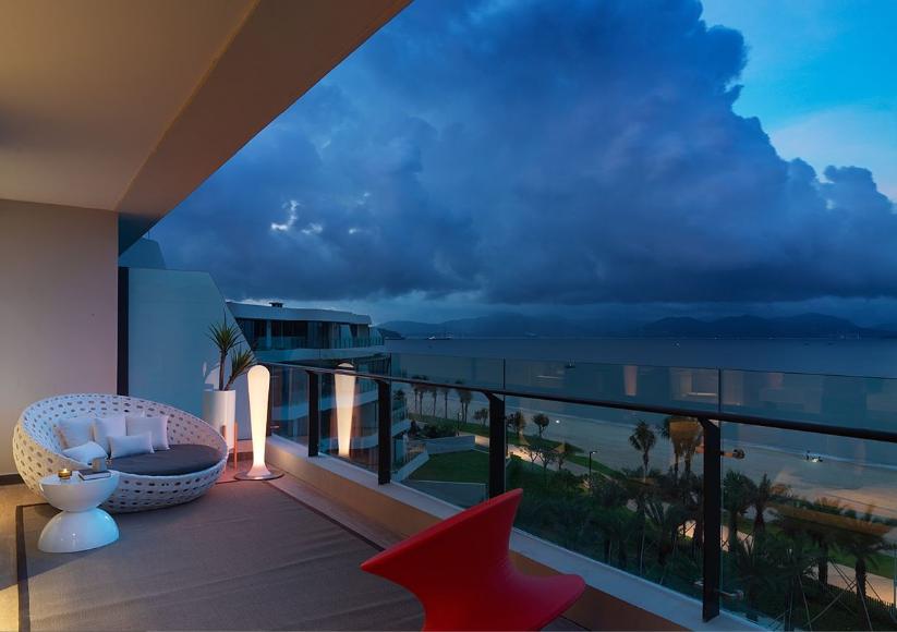 观海美式风格家装阳台效果图