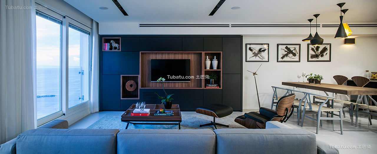 现代公寓效果图