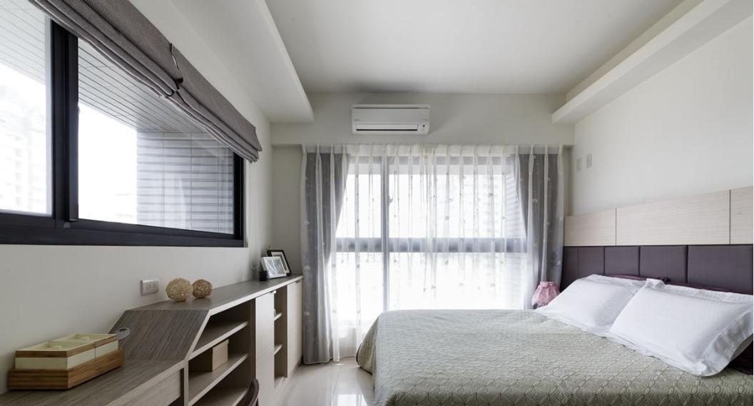 精工木宅的小户型家装卧室效果图
