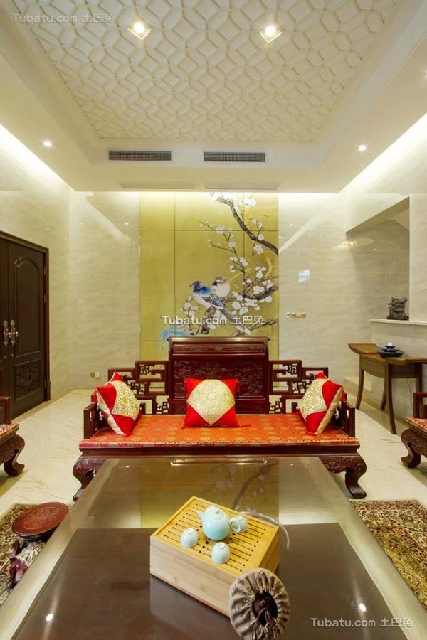 热门139平米中式别墅欣赏图片大全