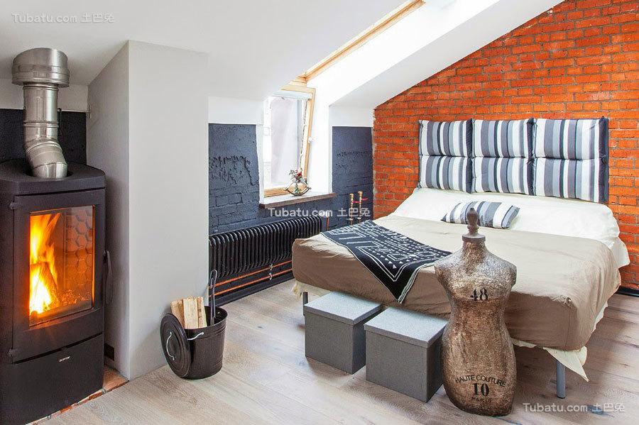 40平米一居室家装卧室效果图