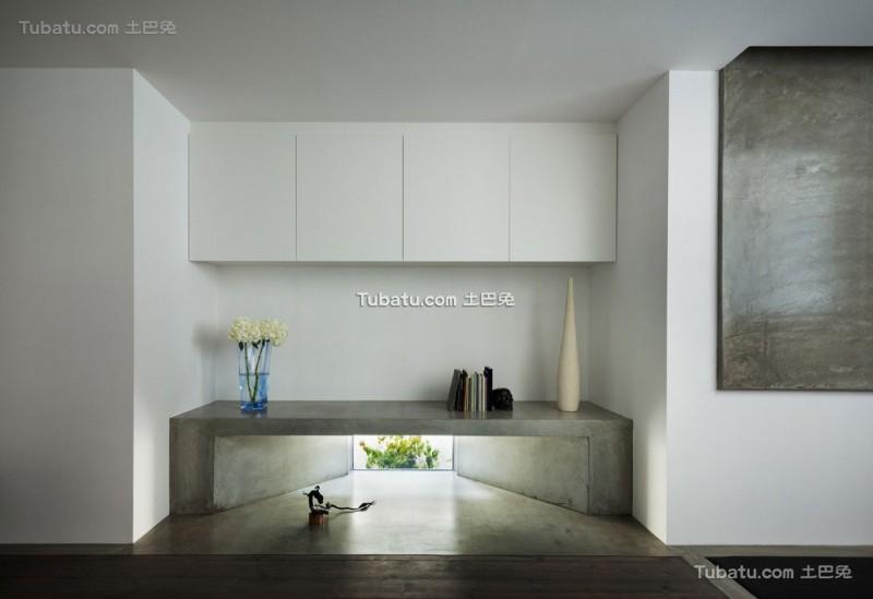 日式简约风格住宅玄关效果图