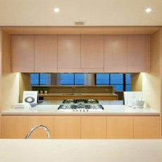木色原味美式风格橱柜效果图