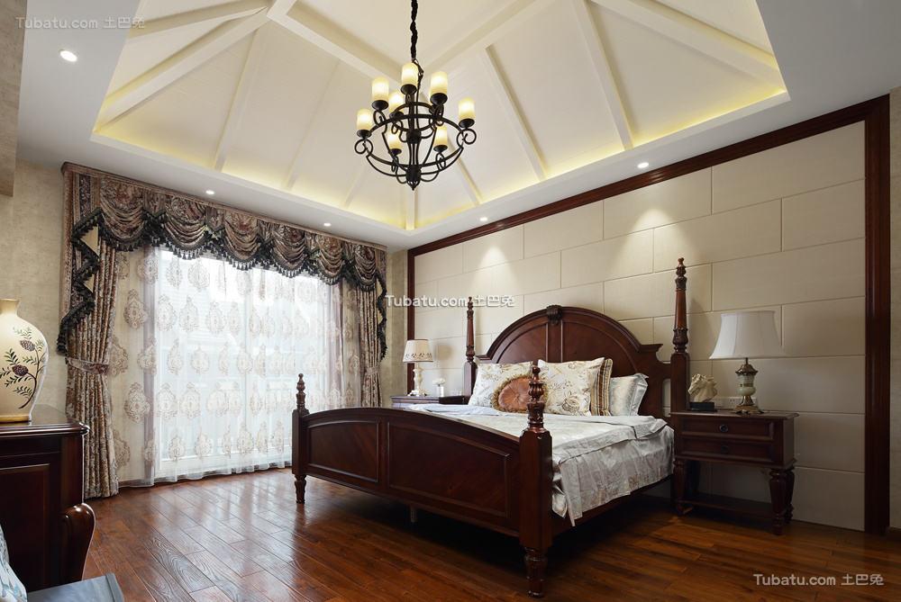 欧式风住宅卧室效果图
