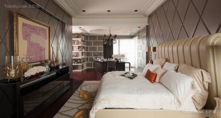 欧式经典家装卧室效果图