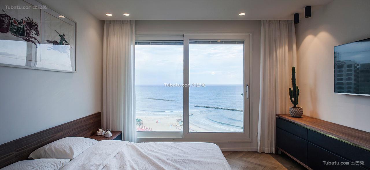 现代公寓卧室效果图片