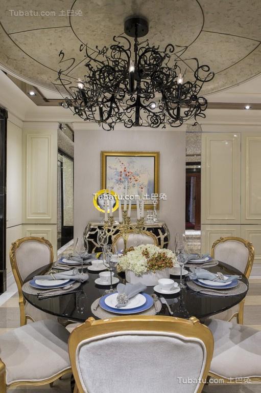 黛丽的欧式风格家装餐厅效果图